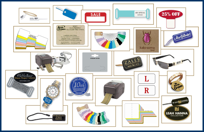 arch crown manufacturers of distinctive tags and labels for