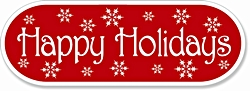 HHR - HAPPY HOLIDAYS LABELS (662)