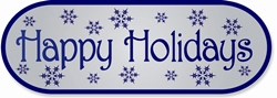 HHS - HAPPY HOLIDAYS LABELS (661)