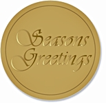 SLG - SEASONS GREATINGS LABELS (663)